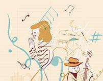 Affiche | Concours Jazz à Clamart 2015
