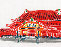 Sketches in Okinawa