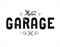 Lettering Motor Garage