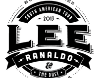 Lee Ranaldo & The Dust Poster + Identity