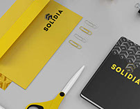Solidia Construction Branding