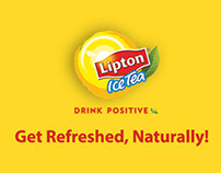 Lipton #GetRefreshedNaturally