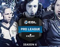 ESL Pro League Poster Concept