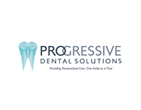 Progressive Dental Solutions Logo & Stationery Pacakge
