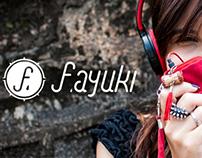 Logotype Fernanda Ayuki