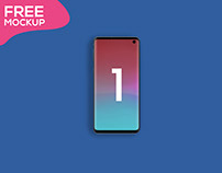 Free Galaxy S10 Animated 3 Page Mockup