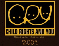 Calendar design for CRY 2009