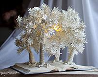 Wildwood Dancing - Book Sculpture