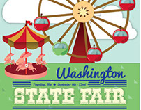 Washington State Fair Poster Design