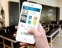 Diseño & Concepto de la App del Hotel CasaBlanca