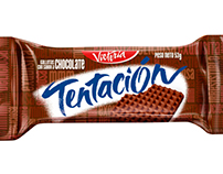 Tentación Chocolate Logo