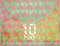 On The Bus/Segway/Galaxy Dynamite Poster