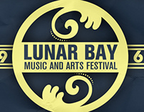 Lunar Bay Music Festival Online Lineup Design