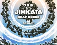 Cafe 611 Jimkata/Deaf Scene Poster Design