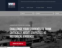 WW2Classroom.org | UX Design