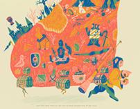 Quest for the Grail - Monty Python Art Show