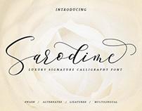 Sarodime Font (Free Download)