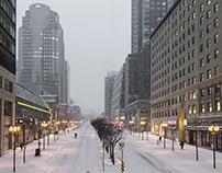 Blizzard City - Part II : Downtown