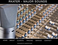 Music Studio Web Design