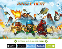 Jungle Heat Game Promo Page