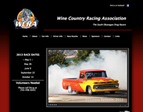 Wine Country Racing Association Website & Photography