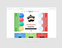 Kidscolors | Sitio Web con Tienda en Línea.
