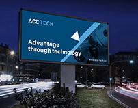 Corporate identity for engineering company Acetech