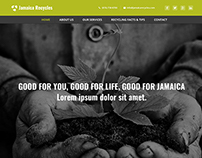 Jamaica Recycles Website Template