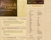 Politics & Culture WordPress Theme