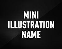Mini Illustration | Name