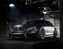 LibertyWalk BMW M4 - CGI & Photograph & Retouching