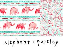Elephant Paisley