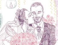 Card (Bifold): Sweet Bells and Bouquet