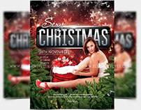 Sexy Christmas – Free Flyer PSD Template