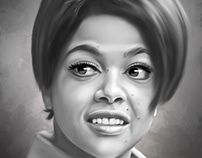 Tami Terrell Digital Style Painting by Wayne Flint