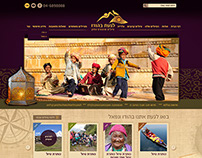 Web site design for tours in india
