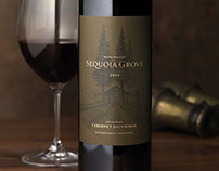 Sequoia Grove Wine Labels & Packaging