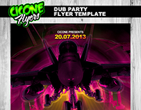 Dub Party Flyer Template