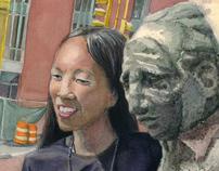 The Statues of Davis Square