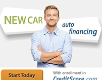 CreditScore.com Want/Need. Banner and LP
