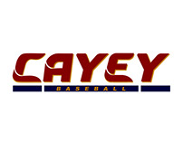 Cayey Baseball - logo v2