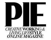 PIE online magazine / cover