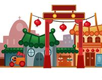 Ulala Chinese New Year_Building