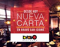 BRAVO RESTOBAR / Gráficas facebook