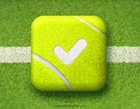 'Tennis Score' app icon