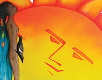 Ilustración de Cuentos Indígenas