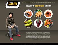 Chef Tawfik Web Design