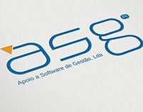 Criação de logo para empresa  asg apoio a Software