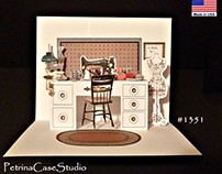 Sewing Room Pop-Up Card