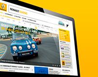 Renault Classic website
